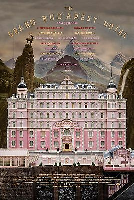 The Grand Budapest Hotel Film Movie Poster Print Gb01 A4 / A3- Buy 2 Get 1 Free!