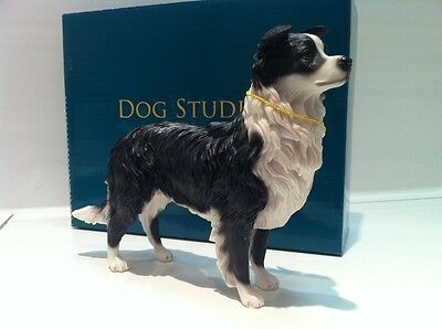 Standing Border Collie Ornament Figurine Gift  *New in box*