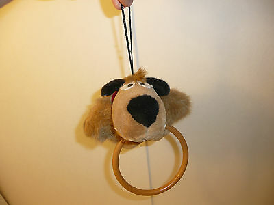 Muttley Child's Plush Hanging Towel Ring - 1994 Sunlike Nippon JAPAN Wacky Races