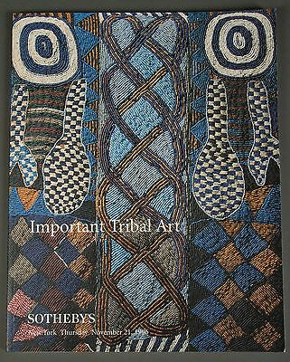 Sotheby's Important Tribal Art, African, November 1996