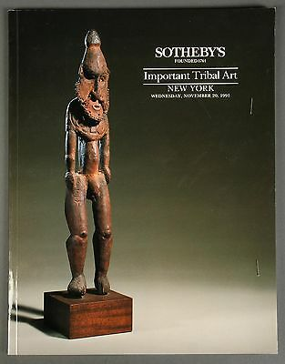 Sotheby's Important Tribal Art, African, November 1991