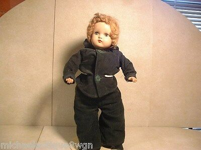 """Vintage 18"""" Composition Horsman Doll With Sleepy Eyes"""