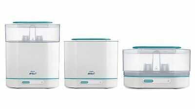 BRAND NEW! Philips AVENT Electric Steam Adjustable Size Sterilizer (3-in-1)