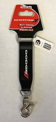 Dodge Logo Strap Fob Key Chain Plasticolor NEW