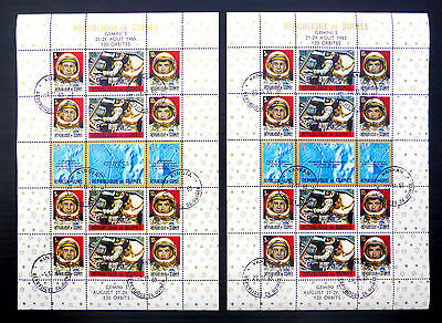 GUINEA Republic 1965 Space M/Sheets (2) SG517/518 Cat £20 SALE PRICE BIN900