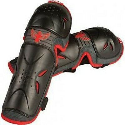 Fly Racing Flex Ii Elbow Guards Pads Forearm Motocross Offroad Black Adult