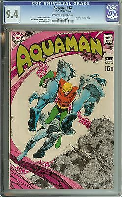 Aquaman #52 Cgc 9.4 Ow/wh Pages // Nick Cardy Cover