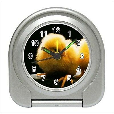 Cute Baby Chick / Chicken - Travel, Jewerly or Desk Clock - DE4316