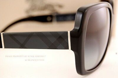Brand New Burberry Sunglasses BE 4160 3001/8G Black For Women  100% Authentic