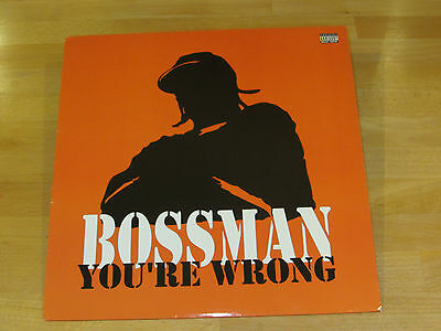 "Bossman - You're Wrong - Us 12"" - Hip Hop - 2006 - Jermaine Dupri"