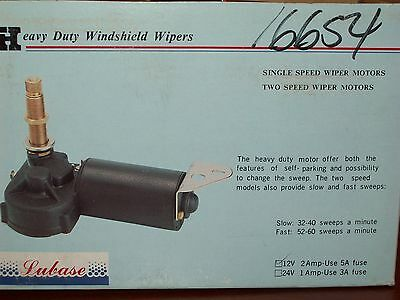 2 Speed Windshield Wiper Motor