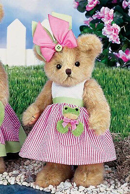 Reese & Ribbit 143276  from Bearington Bears Collection NWT Stuffed Animal