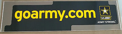 "US Army Decal - Bumper Sticker  goarmy.com "" Army Strong """