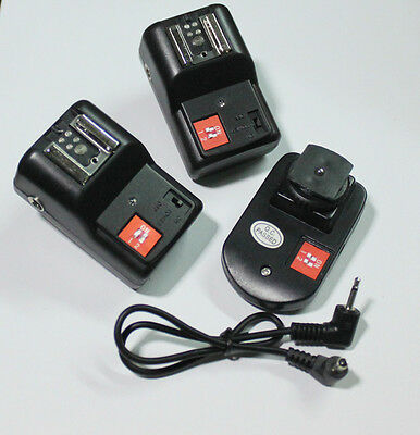 4 Channels Speedlite Remote Flash Trigger for Canon Nikon Pentax Olympus PT-04GY