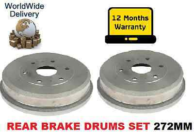 For Toyota  Hiace 2.4D Power Van 2.5Dt 1995-2001 Rear Brake Drums Set Oe Quality