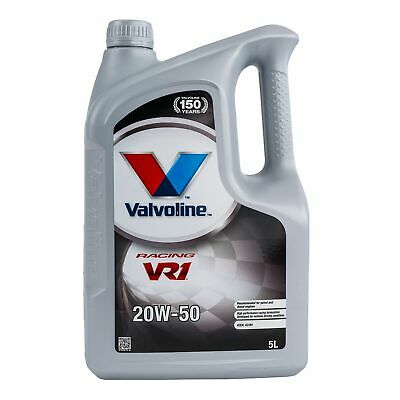Valvoline VR1 20W50 Semi Synthetic Mineral Rally/Racing/Motorsport Oil - 5 Litre