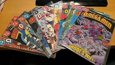 Lot of 12 DC Comics Omega Men (1984/85)  Issues #12-21 & 23, 24