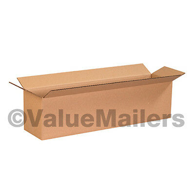 25 18x8x6 SHIPPING Packing Mailing Moving BOXES Corrugated Cartons Storage Box