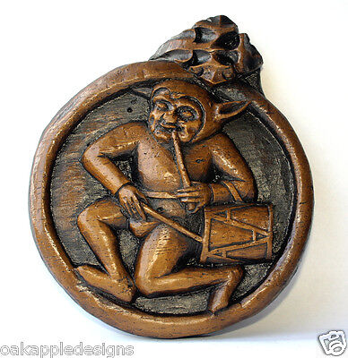 Drumming Jester Medieval Cathedral Misericord Carving Beverley Minster Drum Gift