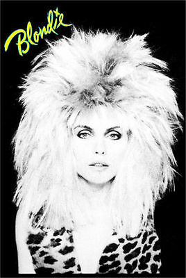 BLONDIE - HAIR MUSIC POSTER - 24x36 SHRINK WRAPPED - DEBBIE HARRY 787