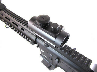 Rocky Mountain-Tactical Illumination-1x30 Red Dot Rifle Sight Scope-100% W/Proof