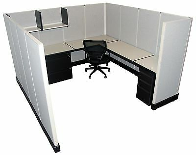 Herman Miller AO2 8'x8' Office Cubicles / Workstations Refurbished Furniture