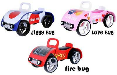 Kidzmotion Bug Wooden sit on / ride on car SRP £80