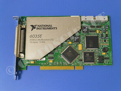 National Instruments PCI-6035E NI DAQ Card, 16 bit Analog Input, Multifunction