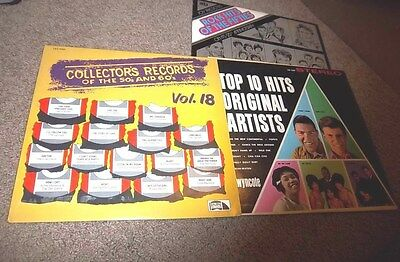 various COLLECTOR'S RECORDS OF THE 50 & 60'S-VOL.18  LAURIE LES 4053  NM/VG+ LP