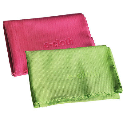 E-Cloth 2 Pack Glass Cleaning & Polishing Cloth, 2 Pack