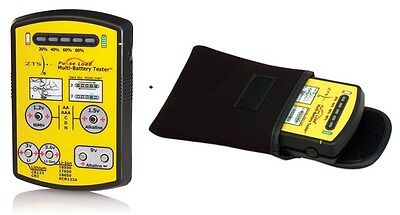 ZTS MINI-MBT Multi-Battery Tester + Soft Carrying Case NEW VERSION