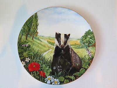 Royal Doulton - Country Wildlife Collection - Safe Retreat Decorative Plate