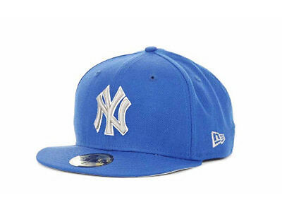 150f39313c268 New York Yankees MLB G-Series New Era 59Fifty Flat Brim Fitted Hat Cap Azure