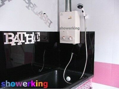 Horse/Dog Shower from Showerking; LPG Hot Water Indoor Use; Cointra Optima L5
