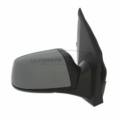 Ford Fusion 2006-2012 Door Wing Mirror Electric Black O/S Driver Right
