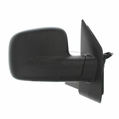 VW T5 2003-2010 Door Wing Mirror Electric Black O/S Driver Right