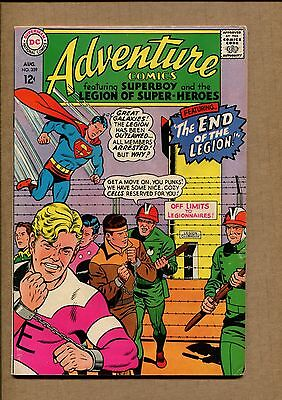 Adventure Comics #359 - The Outlawed Legionnaires  - 1967 (Grade 6.0) WH