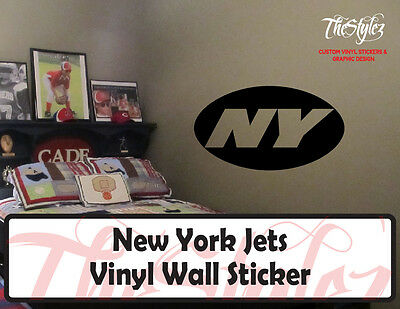 New York Jets Logo Vinyl Wall Sticker