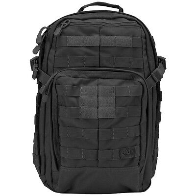 5.11 Rush 12 Security Go Bag Patrol Backpack Tactical Molle Pack 21L Black