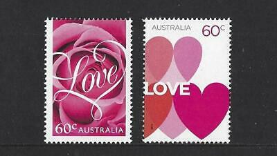 Australia 2014 Romance, Love Stamps Unmounted Mint, Mnh