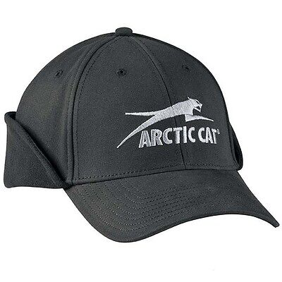 New Arctic Cat Fitted Aircat Earflap Cap - S/M - Part 5223-045