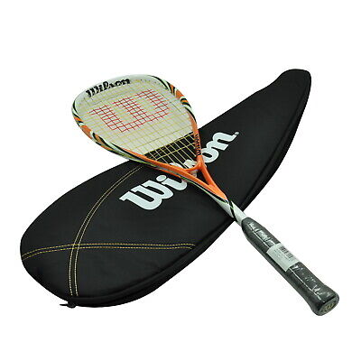 Wilson Squash Racquet - Blx Fierce - 133G Squash Racket - Light Weight For Speed
