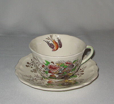 Royal Doulton HAMPSHIRE Flat Cup and Saucer