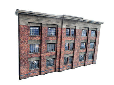 LOW RELIEF 1930s FACTORY CARD KIT OO GAUGE 1:76 SCALE FOR HORNBY MODEL RAILWAY