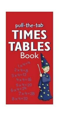 Pull-the-Tab Times Table Book by Vivian Head Book The Cheap Fast Free Post