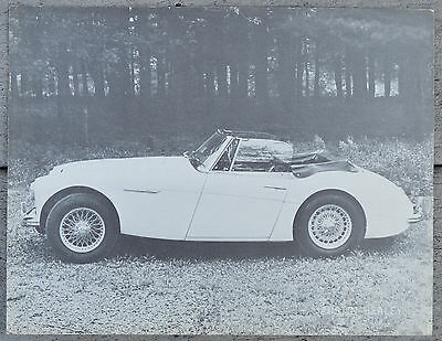 Austin Healey 3000 MkIII  brochure - single page NA market March 1965