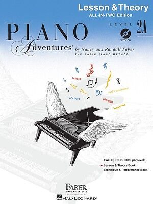 Level 2A - Lesson Book: Piano Adventures (Paperback) by Nancy Faber