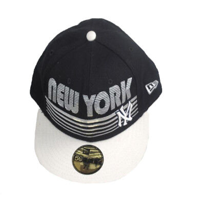 Era 59 Fifty New York Yankees cotton blue snapback baseball cap 58.7 cm-63.5 cm