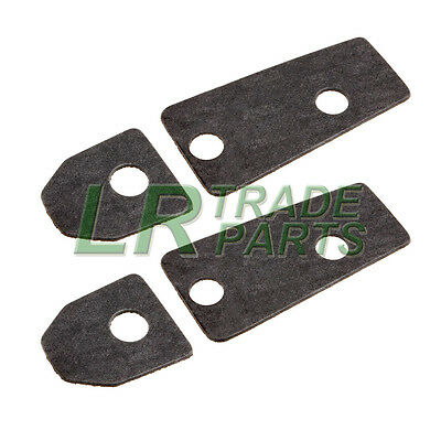 Land Rover Defender Windscreen To Bulkhead Bracket Gasket Set - Mxc9982  Mxc9983