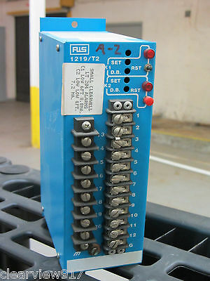 RIS Rochester Instrument Systems ET-1219/T2 Current Alarm